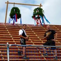 weitere Bilder vom Richtfest