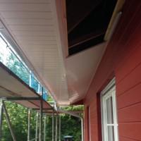 26. Tag der Montage: Dachunterschläge