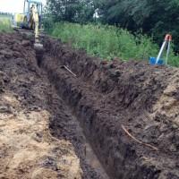 32.+33. Tag: Trockenbau und Regenwasserkanal